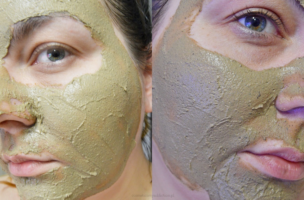 Rapan Beauty - maska i peeling 2w1 - żółta glinka syberyjska, śluz ślimaka, Maqui berry