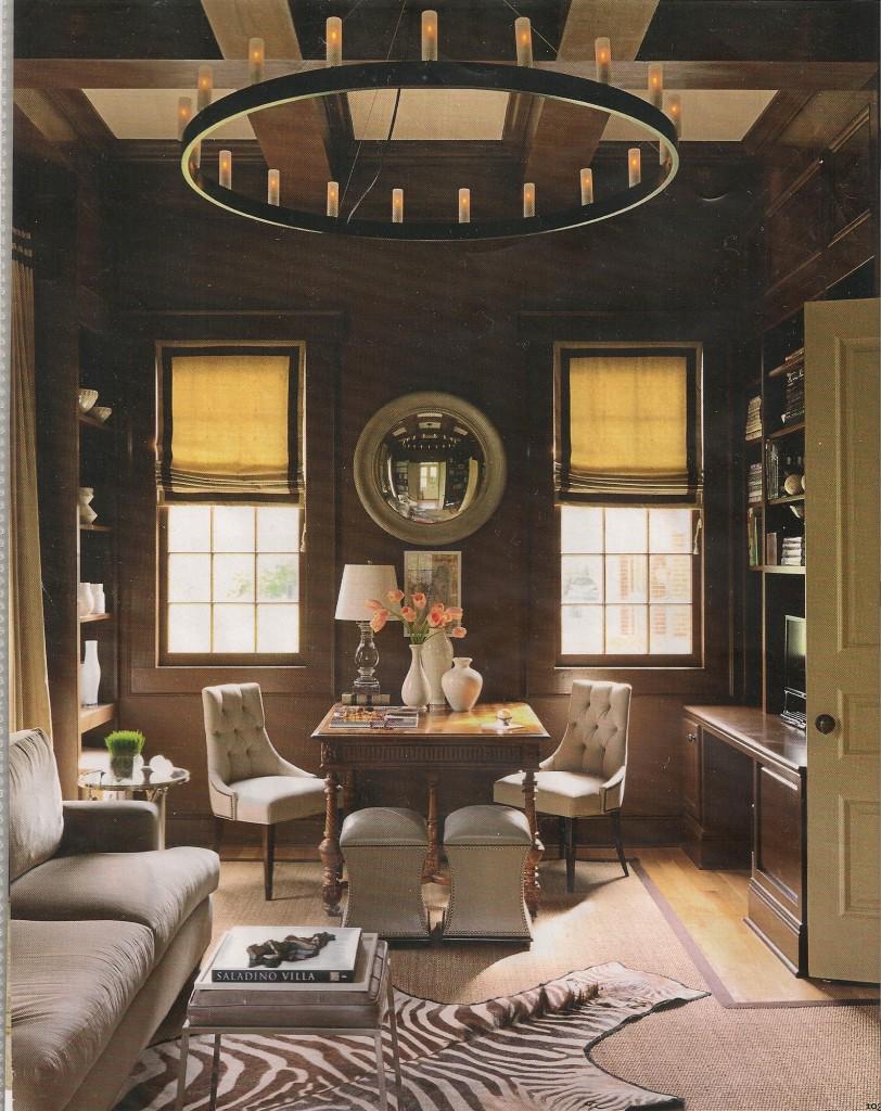 Home Office With Ballard Designs Furnishings Benjamin: A Schnauz Design Blog: A