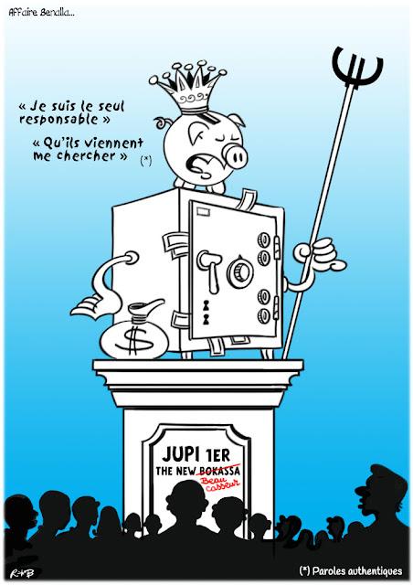 Le dessin du jour (humour en images) - Page 18 Macron-bocassa