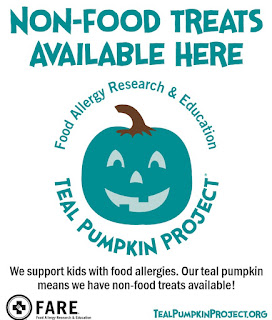refabulous teal pumpkin project