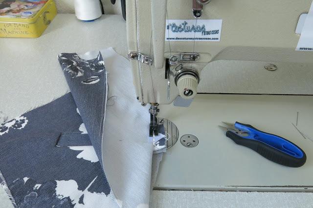 costura paso a paso