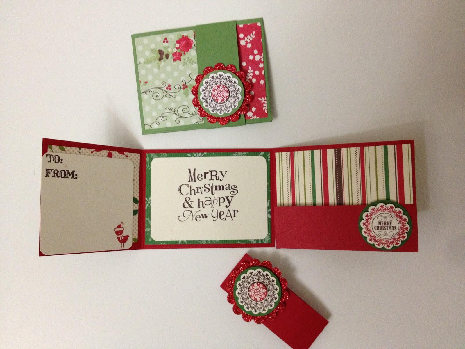 Linda's Paper Garden: Giftcard/Money Holders for Christmas ...