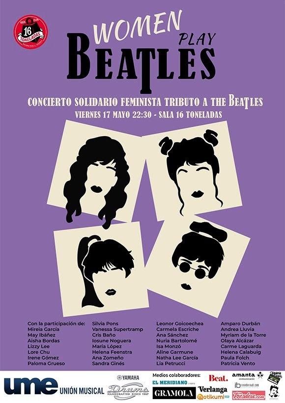«Woman play Beatles» : le manifeste de musiciennes espagnoles