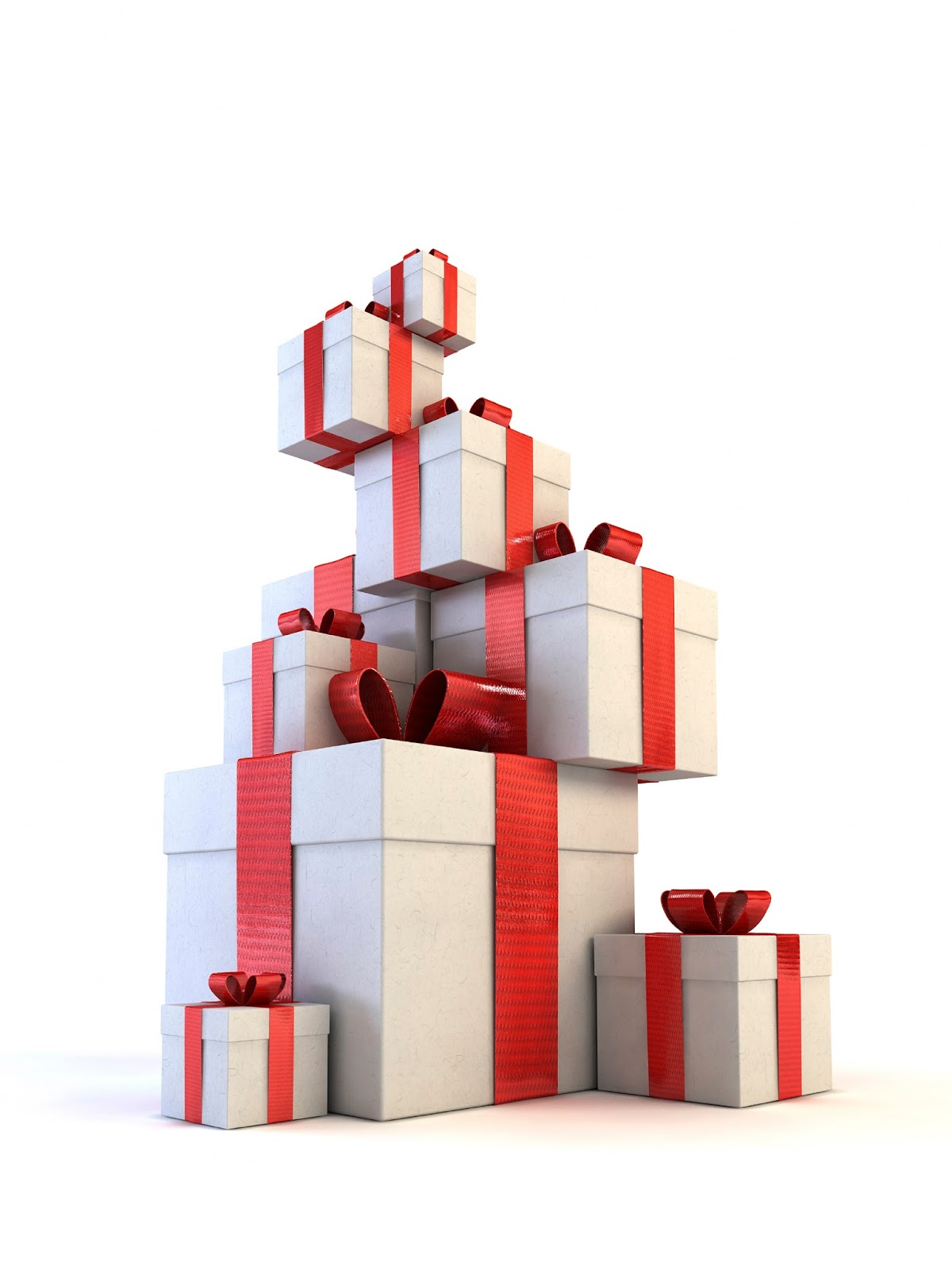 Custom christmas boxes stacked cardboard