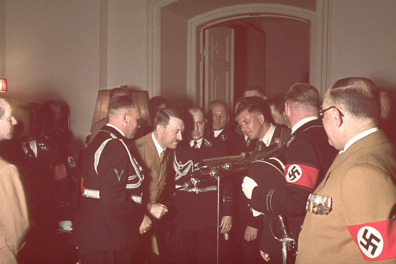 Hitler At 50 Rare Color Photographs From A Despot S