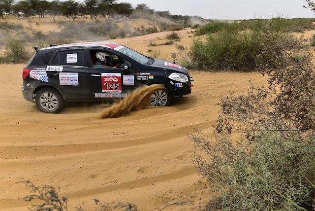Maruti Suzuki Desert Storm Rally