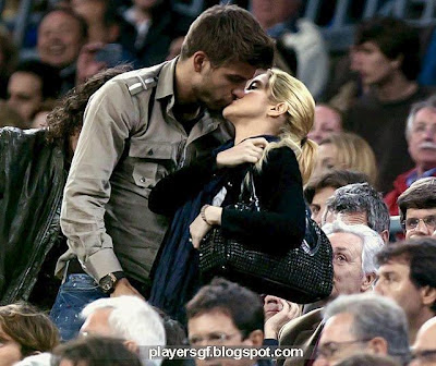 Gerard Piqué and Shakira