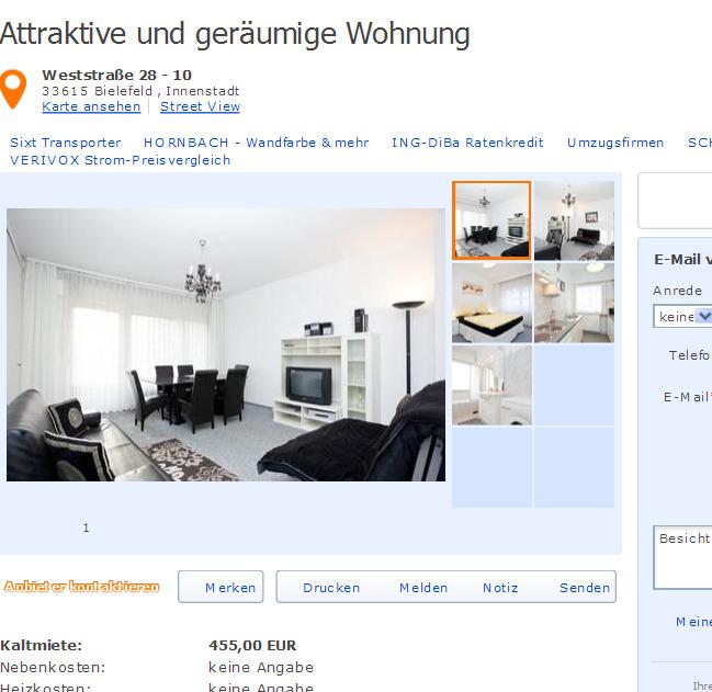 Mietwohnung Duisburg wohnungsbetrug com heiko johann yahoo de viele betrugsangebote in diversen städten