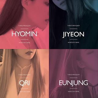 T-ARA – What's My Name? Jiyeon/Hyomin/Eunjung/Qri Solo Albümü