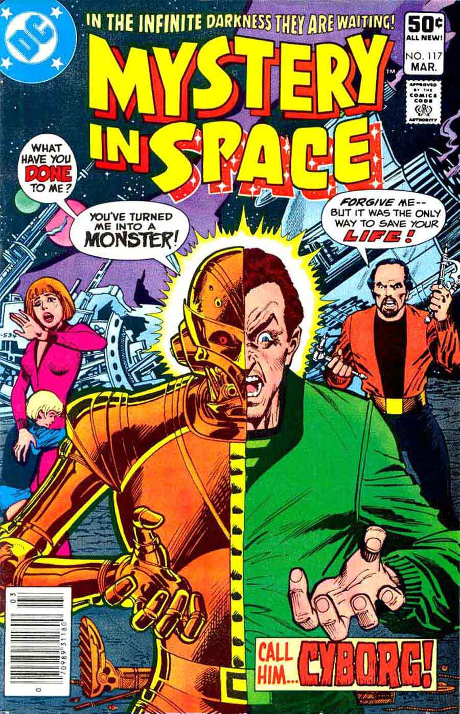 Mystery in Space #117 - Don Newton art - Pencil Ink