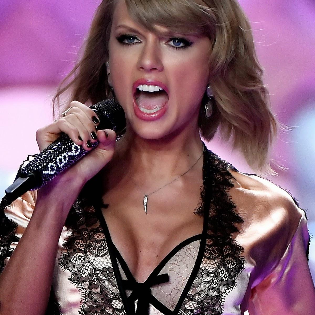 Beauty Celebrity: Taylor Swift Sexy 2014 Victoria's Secret