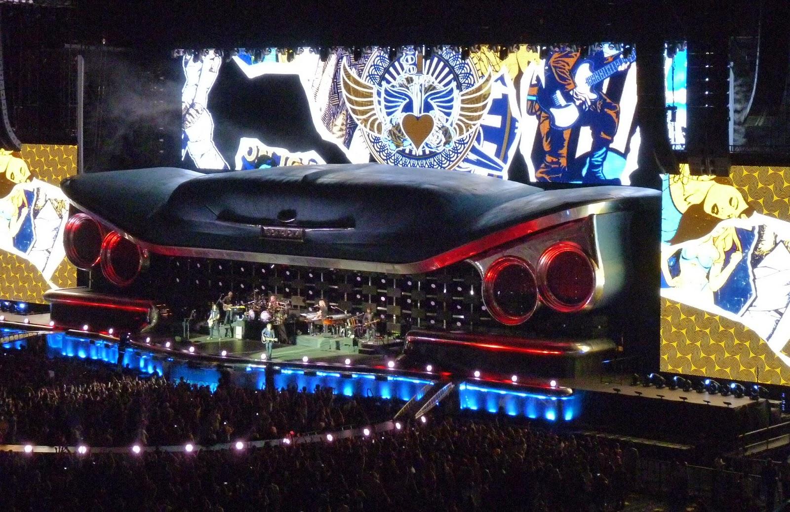 Concierto de Bon Jovi en Madrid 2013.