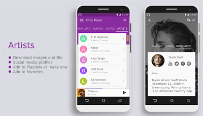 Onix Music Player 1.1.4 Full APK Gratis Terbaru