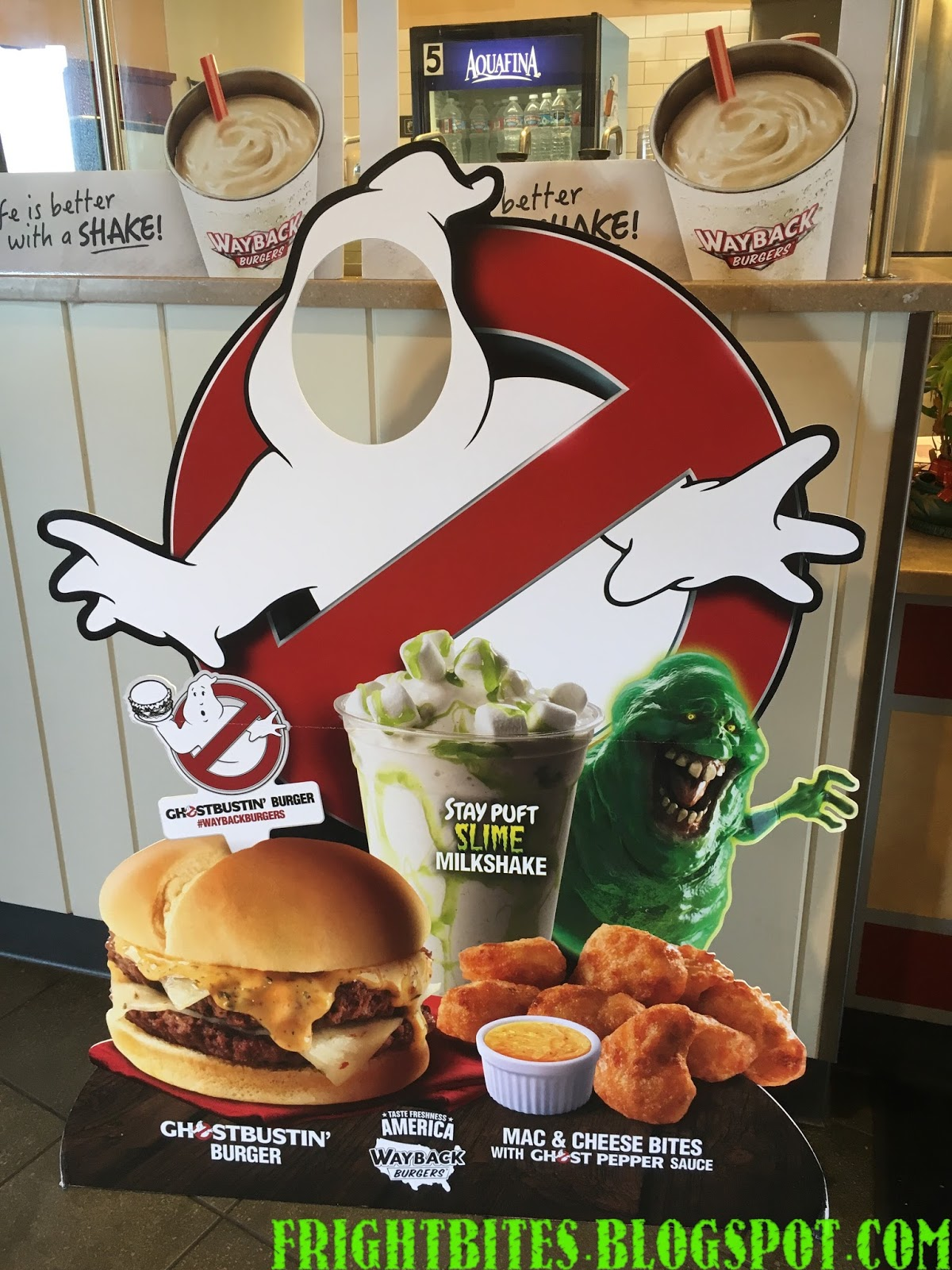 Fright Bites: Ghostbusters Menu Offerings from WayBack Burgers