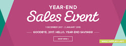 Year End Sale and Retiring Products