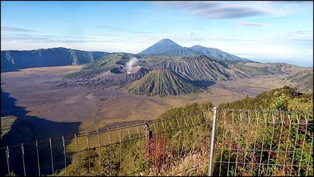 Objek wisata Gunung Bromo dan sekitarnya