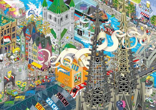 Cologne Pixel Art