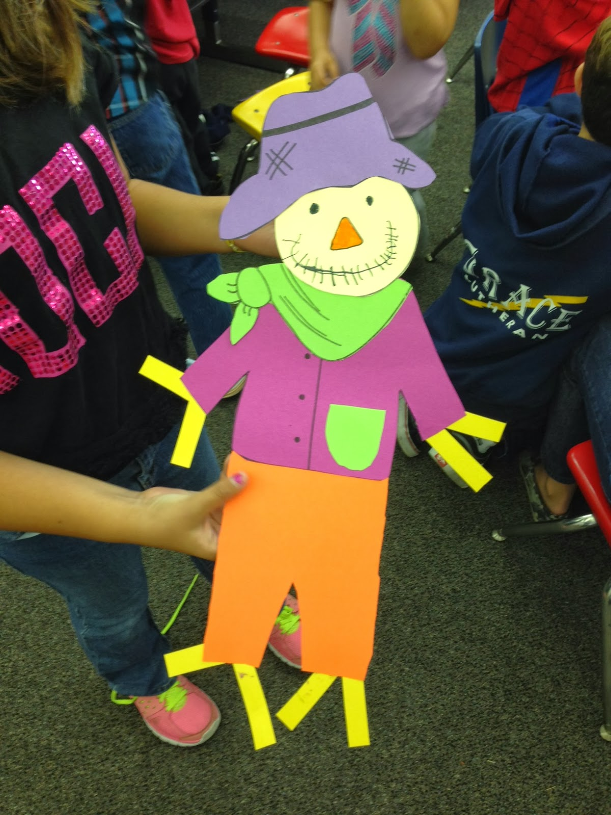 Scarecrow Craft For Primary