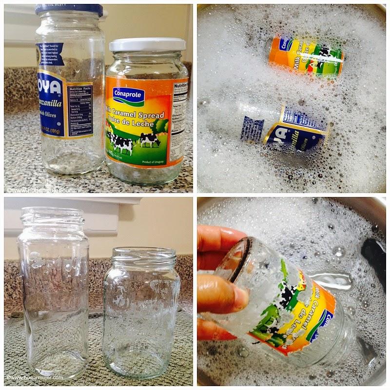 Como quitar el pegamento el de las etiquetas mejor - Quitar pegamento cristal ...