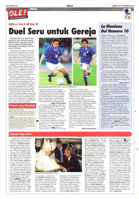 ITALIA VS SERI-A ALL-STAR XI