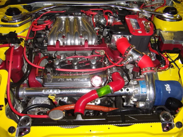 Mitsubishi Eclipse 3G, V6, RIPP Supercharger Kit, 6G72