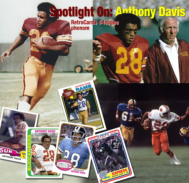 Topps 1975, 1976, 1978, 1979, 1983 Southern California Sun, Toronto Argonauts, Tampa Bay Buccaneers, Los Angeles Rams, Los Angeles Express