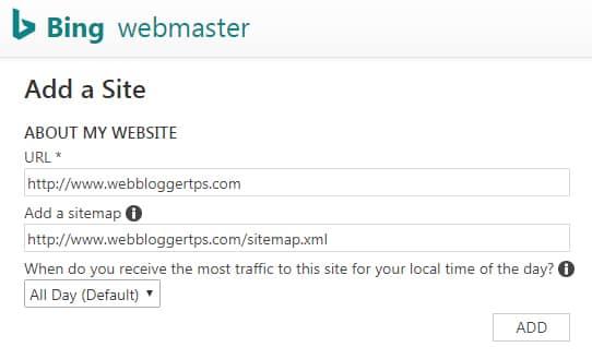 Sitemap kaise submit kare in bing webmaster tool