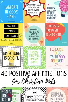 60+ Daily Positive Affirmations for Kids (2019) | TopiBestList