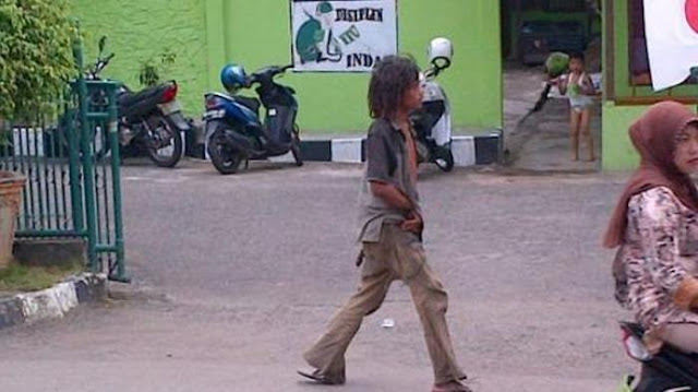Ikutan Nyoblos, Orang Gila Ditanya Capres Cawapres Jawabnya Saipul Jamil