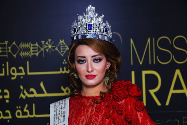 Miss Iraq and Miss Israel selfie Pictures on social media