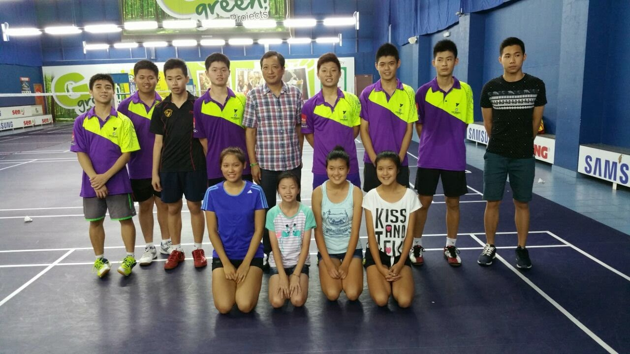 An Yu Badminton Academy January 2015