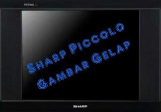 Sharp Piccolo gambar gelap