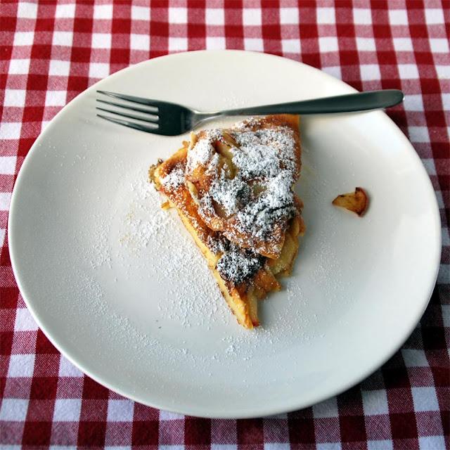 Apfelpfannekuchen frisch aus der Pfanne | pastasciutta.de