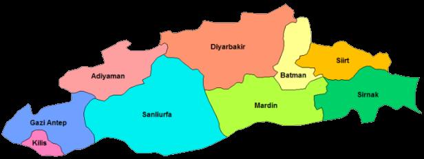 Güneydoğu Anadolu Gezilecek Yerler