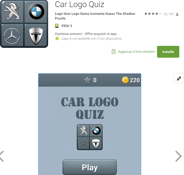 Soluzioni Car Logo Quiz di tutti i livelli | Walkthrough guide