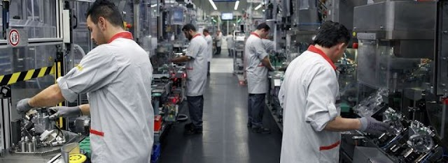 Industrial output up by 5.4% in first three quarters