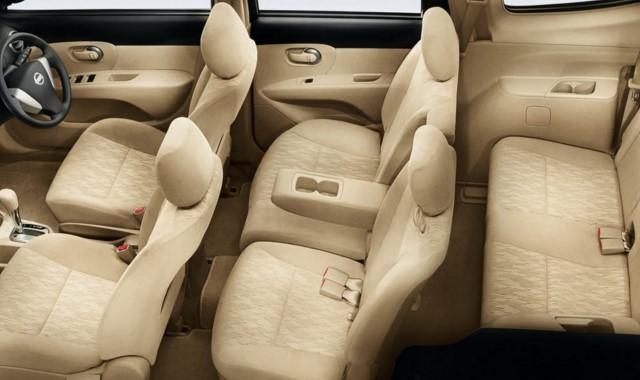 """Varian """"Nissan Mobil Terbaik Pilihan Keluarga Indonesia"""" Versi MPV - Interior"""