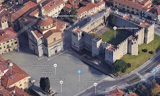Piazza Santa Maria delle Carceri 3D google
