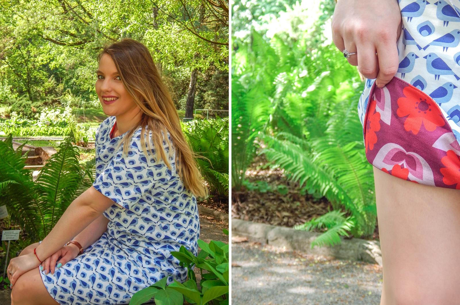 8 samodobro dwukroopek dwustronna sukienka dla mamy prezent na dzień matki drewniana biżuteria wróbel i dzika róża metka z opowiadaniem ciekawe mlode polskie marki odzieżowe moda lifestyle łódź