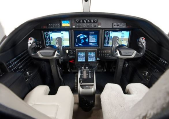 Cessna Citation M2 cockpit