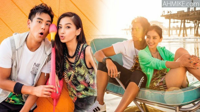 Angelababy Out Enjoying California Sun With Eddie Peng(彭于晏 ...