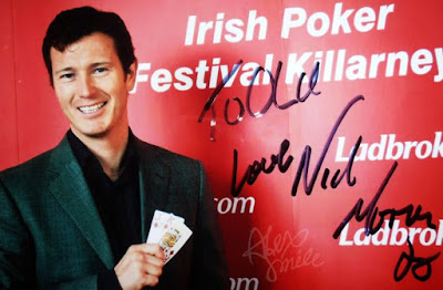 Nick Moran  Harry Potter Scabior Autograf  Harry Potter