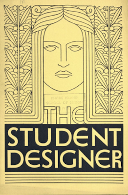 Student Designer 1930 Rhode Island School of Design  Francis Quirk on Staff