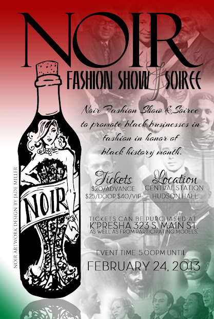 "Connoisseur Of Fresh 'presha Presents ""noir"" Fashion Show"