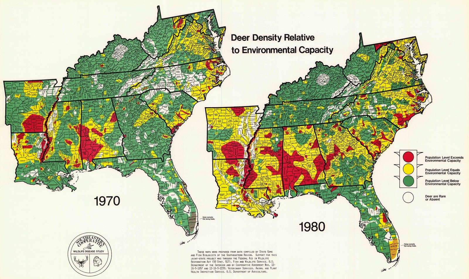 Map Analysis Blog Project Deer Density