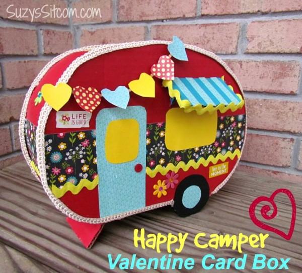Happy Camper Valentine Box From Suzyu0027s Sitcom