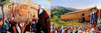 Cerita Nabi Nuh, Kapal dan Banjir Besar