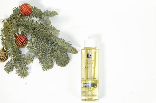 Гидрофильное масло   для лица «Чудесное сияние» Avon True NutraEffects.