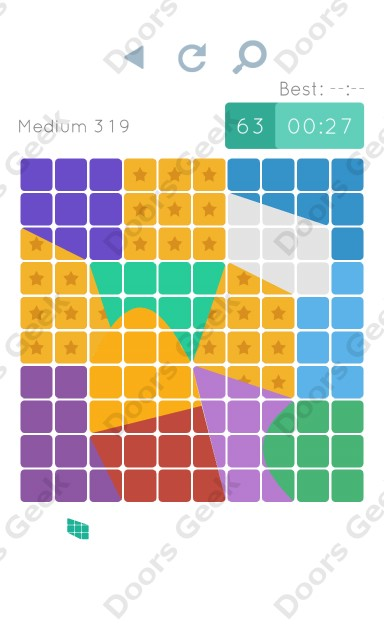 Cheats, Walkthrough for Blocks and Shapes Medium Level 319