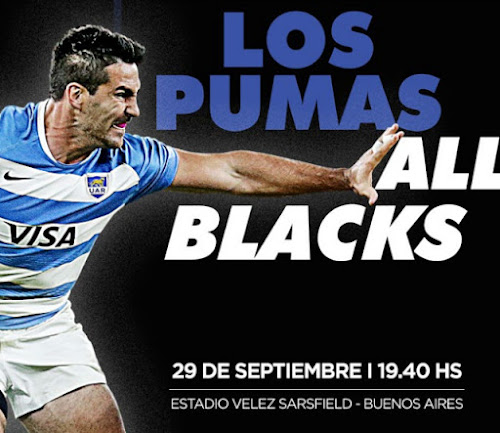 Los Pumas vs. All Blacks: Programa oficial